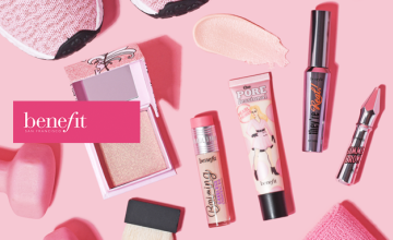 Free Gift When You Spend £50 at Benefit Cosmetics