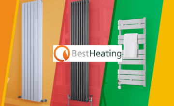 Free £5 Voucher with Orders Over £50 at Best Heating