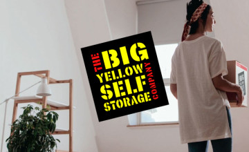 50% Off the First 8 Weeks for New Customers at Big Yellow Self Storage