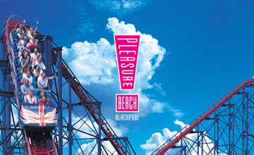Tickets from £32 at Blackpool Pleasure Beach