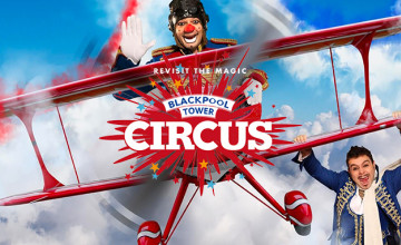 Up to 20% Off Single Admission Advance Bookings at Blackpool Tower and Circus