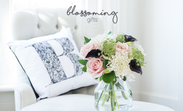 25% Off All Bouquets | Blossoming Gifts Voucher Code