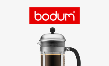 10% Off First Orders with Newsletter Sign-ups at Bodum