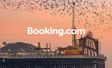 Save 15% or More with Getaway Deals + a £40 Gift Card with Upfront Bookings Over £350 at Booking.com