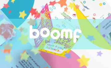 2 Standard Greetings Cards for £5 | Boomf Discount Code