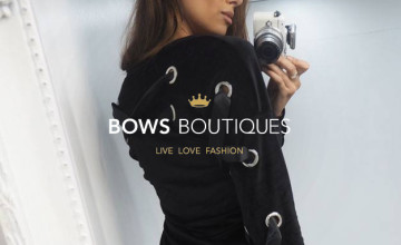 10% Off First Orders with Newsletter Sign-ups | Bows Boutiques Deal