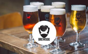Up to 15% Off Selected Multi Beer Bundles at BrewDog