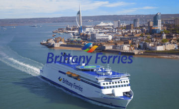 Gift Vouchers from £20 at Brittany Ferries