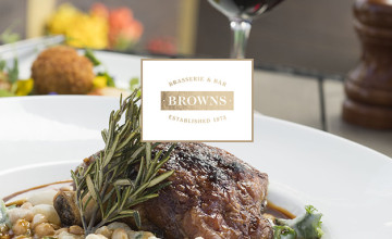 £10 Off Orders with App Downloads When You Spend £20+ at Browns Brasserie and Bar