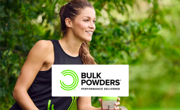 Enjoy 50% Off Supplement and Nutrition at Bulk Powders