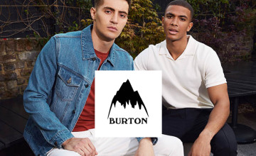 80% Off Selected Sale Orders   Burton Promotion 🤑