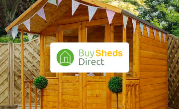 Save £10 on Orders Over £300 at Buy Sheds Direct