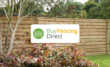5% Off Fencing Orders Over £500 at BuyFencingDirect