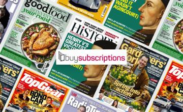 50% Off Selected Magazine Subscription Bundles at buysubscriptions.com