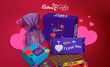 Free £5 Voucher with Orders Over £45 at Cadbury Gifts Direct