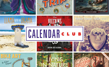 £5 Gift Card with Orders Over £40 at Calendar Club