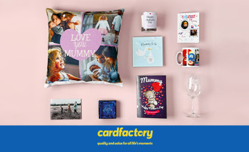 Free Card with Orders Over £10 at Card Factory
