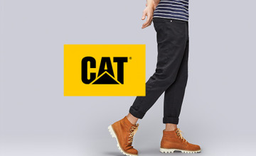 Up to 40% Off Items in the Outlet at Cat Footwear