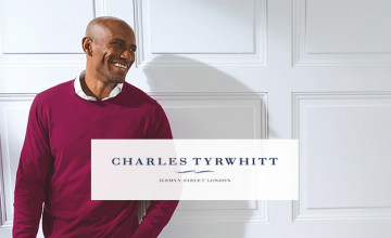 15% Off plus Free Delivery on Orders Over £50 | Charles Tyrwhitt Discount Code