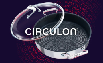 10% Off First Orders with Newsletter Sign Ups at Circulon