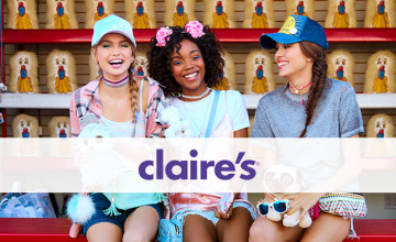 50% Off Fashion in the Sale of Claire's