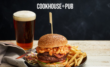 25% Off Food with Newsletter Sign-ups at Cookhouse & Pub