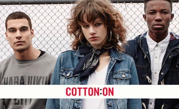 Save 50% - 70% Off Sale Range at Cotton On