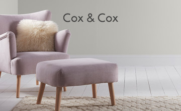 20% Off First Orders with Newsletter Sign-ups at Cox & Cox