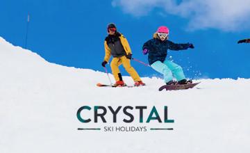 Winter 2021/22 Bookings from £437pp at Crystal Ski Holidays