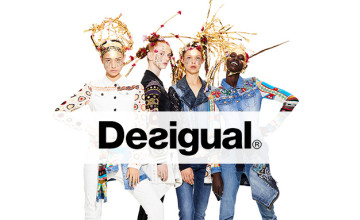 £10 Gift Card with Orders Over £60 at Desigual