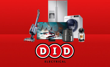 Up to €50 Off Vacuum Cleaners at DID Electrical