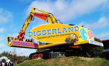 Individual JCB Experience for £149.99 at Diggerland
