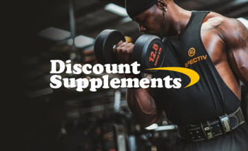 Up to 80% Off Items in the Clearance Sale at Discount Supplements
