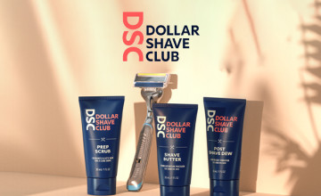 Raise Your Grooming Game with a Starter Set from Just £5 at Dollar Shave Club
