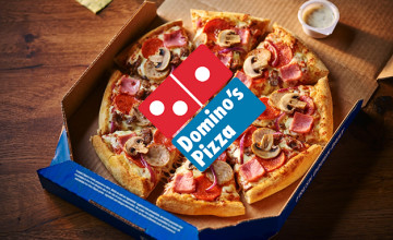 30% Discount When You Spend €30 at Domino's Pizza