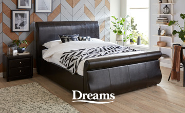 Up to £850 Discounts in the Clearance at Dreams Beds