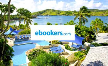 10% Off App Bookings at ebookers
