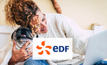 £60 Gift Card with Dual Fuel Energy Orders at EDF