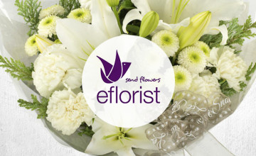 Free £5 Voucher with Orders Over £30 at eFlorist