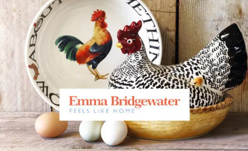 Save up to 50% on Outlet Orders at Emma Bridgewater