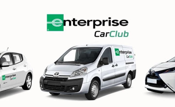 Free £10 Voucher with Orders at Enterprise Car Club