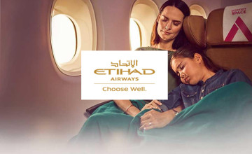 Students Save 10% on Flights with Etihad Airways