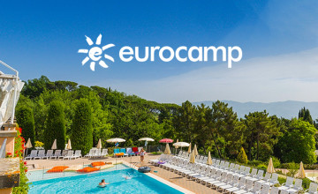 40% Off Second Holiday when Booking 2 Holidays at Eurocamp