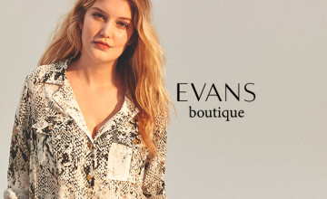 20% Off First Orders with Newsletter Sign-ups at Evans