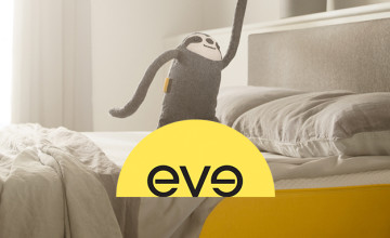 £25 Gift Card with Orders Over £400 at eve sleep