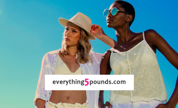 50% Off Selected Sale Lines   Everything 5 Pounds Deal