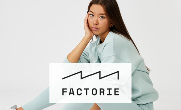 Save! Up to 50% Sale at Factorie