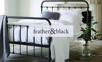 Save £25 on First Orders Over £250 with Newsletter Sign-ups at Feather & Black
