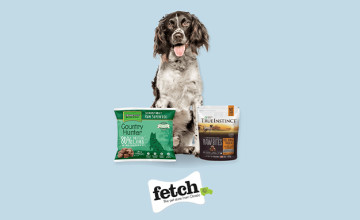 20% Off First Canine Choice Orders at Fetch