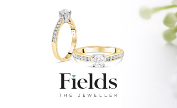 Shop the Sale for 50% Off Orders at Fields💍